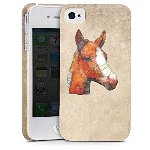 Apple iPhone X Silikon Hülle Case Schutzhülle Pferd Fohlen Ponny Premium Case glänzend
