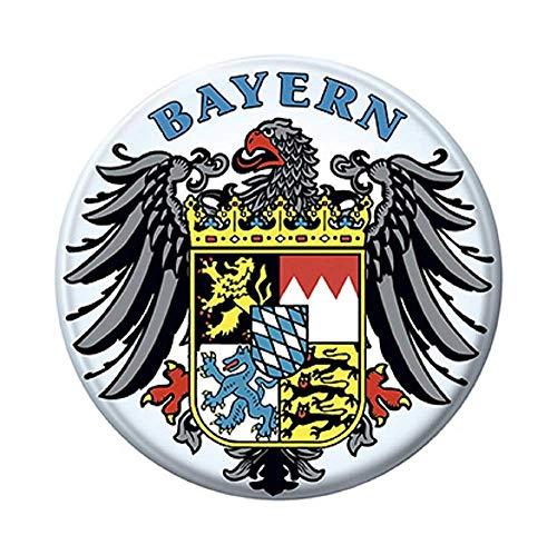 Ansteckbutton - Bayern/Adler/Wappen - 03852 - Gr.ca. 5,7 cm -