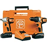 Best Fein Drills - Fein Combo ABS18C-ASCD18W2C Cordless Drill with Impact Wrench Review