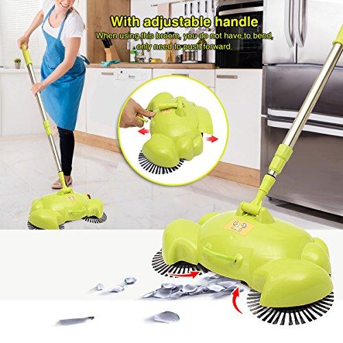 Kehrmaschine, Y.F.M. Haushalt Lazy Automatik Hand Push Kehrmaschine Besen Roboter, 360 Grad Rotary Reinigungsmaschine Easy Sweep Ohne Elektro