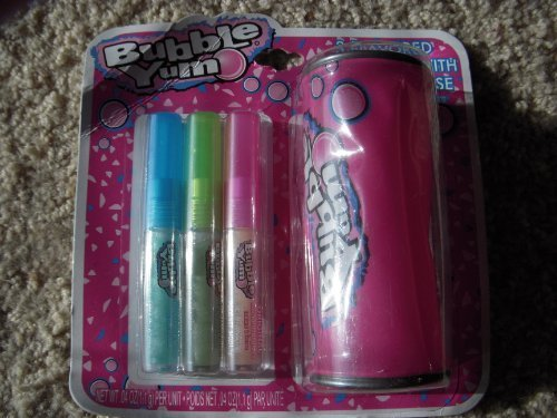 bubble-yum-3-pack-flavored-lip-gloss-with-carrying-case-by-lotta-luv