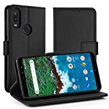 Simpeak For BQ AQUARIS X2 Case, Leather Flip Wallet Case