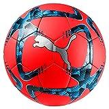 Puma Future Flash Ball Ballon De Foot Mixte Adulte, Red Blast Black-Bleu Azur, 5