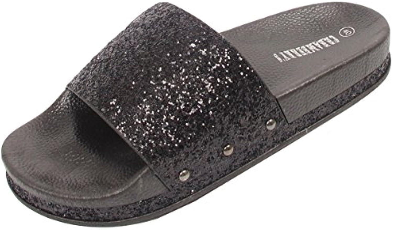 d4c5134d3 Ladies Parent Womens Glittery Slides Mules Slip B07DZGTG1F On Flip Slip  Flops Summer Beach Sandals Size B07DZGTG1F Parent a1b7e78 -  www.besac2014.com