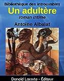 Un adultère (Bibliothèque des introuvables) (French Edition)