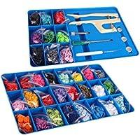 Baby Snaps valigetta con Baby Snap Snaps, Pinze e attrezzi 660Snaps Certificato Oeko-Tex ® standard 100Certificato, numero: 15.0.69299