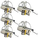 Tunnel Mole Trap Heavy Duty Traps Fast Quick Easy Kill Control Repellent Metal