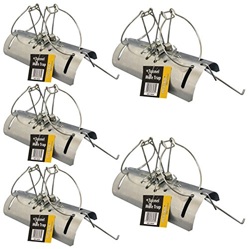 tunnel-mole-trap-heavy-duty-traps-fast-quick-easy-kill-control-repellent-metal-5
