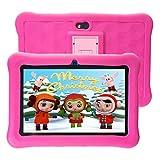 Tablet para Niños 7 Pulgadas WiFi 2GB de RAM 32GB ROM Tablet Infantil Android 6.0 Quad Core HD 1280x800 Doble Cámara y Google Play de Juegos Educativos.