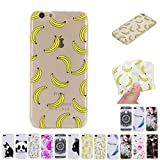 V-Ted Coque Apple iPhone 6S Plus 6 Plus Banane Silicone Ultra Fine Mince Bumper...