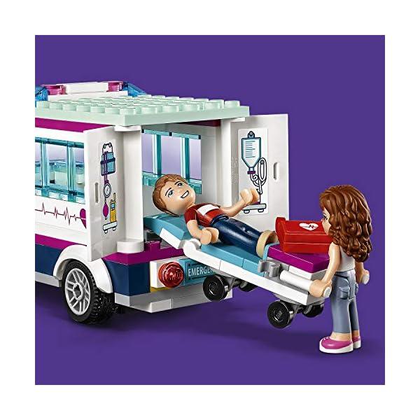 LEGO- Friends L'Ospedale di Heartlake, Multicolore, 41318 3 spesavip
