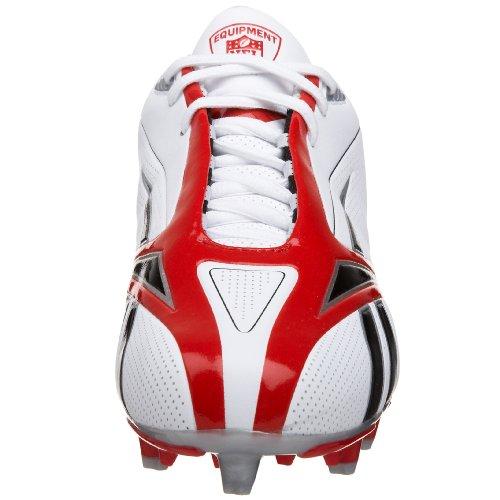 Reebok NFL Burner Spd III Low M3 Synthetik Klampen White/Red
