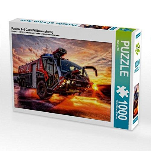 Panther 6×6 CA05 FH Braunschweig 1000 Teile Puzzle quer (CALVENDO Technologie) (Denken Panther)