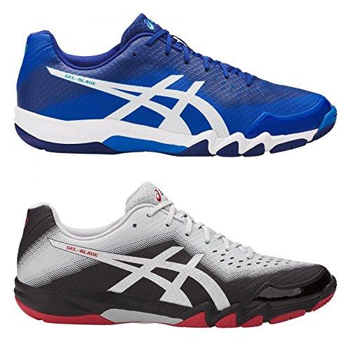 Asics Schuh Gel Blade 6 (Restposten), 40,5 / US 7,5, blau/weiß