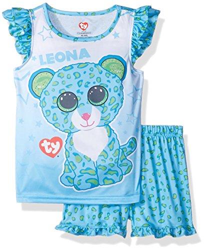 Intimo-Girls-Ty-Beanie-Boo-Ruffle-Pajama-Short-Set