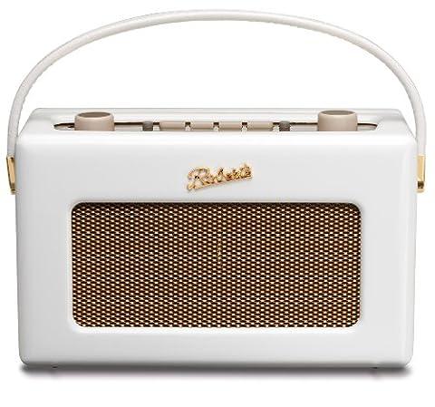 Radio revival-rD60–edition portable-dAB/dAB +/fM radio rétro blanc laqué