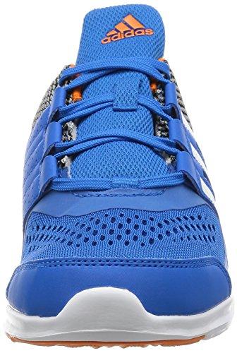 adidas Jungen Hyperfast 2.0 K Turnschuhe Azul (Azuimp / Ftwbla / Naruni)