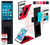 reboon Hülle für Meizu Pro 7 Tasche Cover Case Bumper | Rot | Testsieger