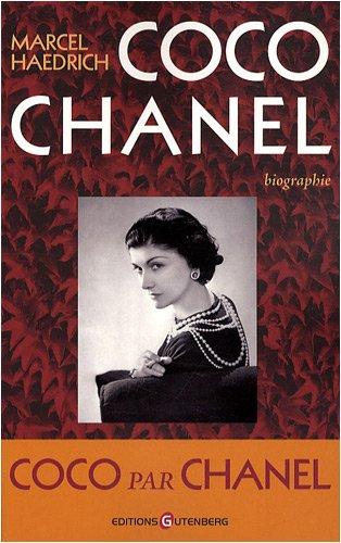 Coco Chanel, biographie par Marcel Haedrich