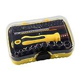 Fernando Feliz 1 Pcs 46 in 1 Kombination mit Fernbedienung Set Schraubendreher Schraubendreher Kopf Demontage Werkzeug für das Haus