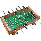 Iso Trade Tischkicker mit Füßen 69x37x23cm Aufstellen 18 Spieler Toranzeige Schieber 2 Bälle #1564