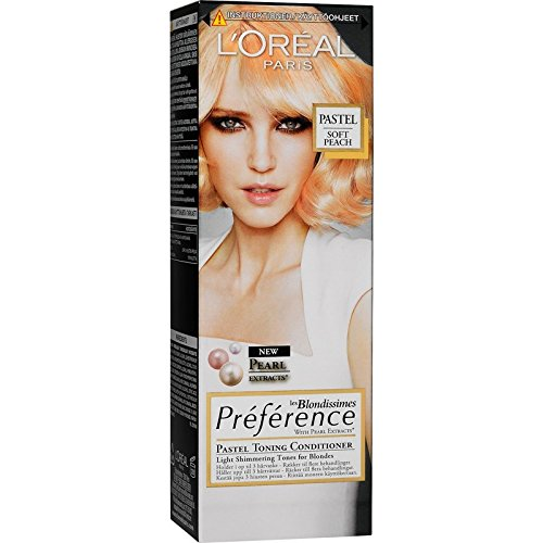 Loreal Paris Preference les 'Blondissimes Pastell Tönungs-Conditioner Farbe: Soft Apricot Inhalt:...