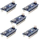 Longruner para Arduino Mini Nano V3.0 ATmega328P 5 V 16 M Micro controlador Junta módulo para Arduino KY64-5