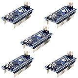 Longruner Mini Nano V3.0 ATmega328P 5V 16M Micro Controller Board Module for Arduino (KY64-5)