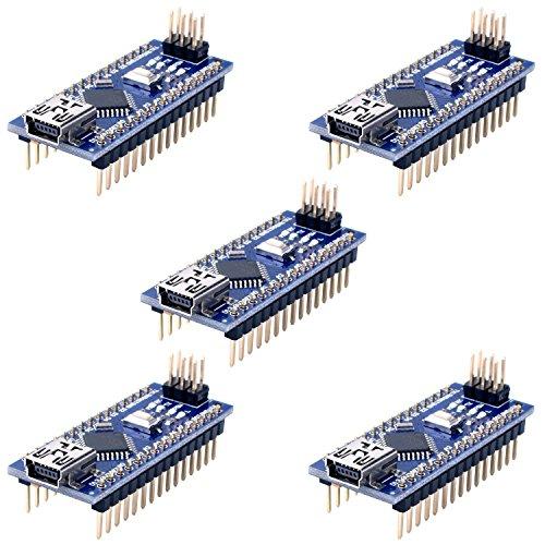Longruner para ArduinoIDE Nano V3.0 ATmega328P 5 V 16 M Micro controlador Junta módulo KY64-5