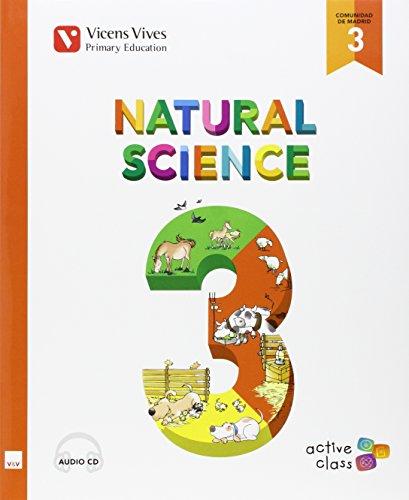 Natural Science 3 Madrid+ Cd (active Class) - 9788468227979 por Maria Jesus Martinez De Murguia Larrechi