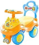 XIN Cochecitos para niños Cochecitos Cochecito para niños Coche de ruedas Mudo Carro de ruedas Scooter para niños 1-3-6 años Juguete para niñas Coche Columpio Yo Coche Material ecológico No huele Zon