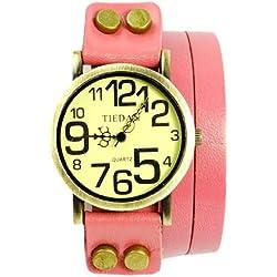 Frau, Punk Armbanduhr, Quarz Armbanduhr, Mode, Casual, Classic, Leder, W0333