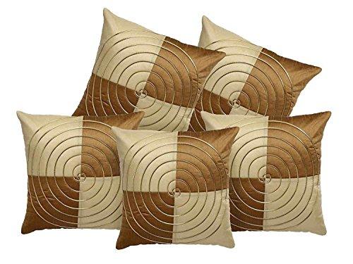 Decor Studioz Multi Colour Premium Cushion Cover Set of 5 Pcs (12X12...