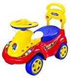 eHomeKart Kids Ride On - Playtool Scooby Baby Rider with Music , Backrest