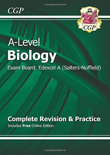 A-Level Biology: Edexcel A Year 1 & 2 Complete Revision & Practice with Online Edition: Exam Board: Edexcel A (Salters-Nuffield)