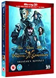 Pirates of the Caribbean: Salazars Revenge (3D) [Blu-ray] [2017]