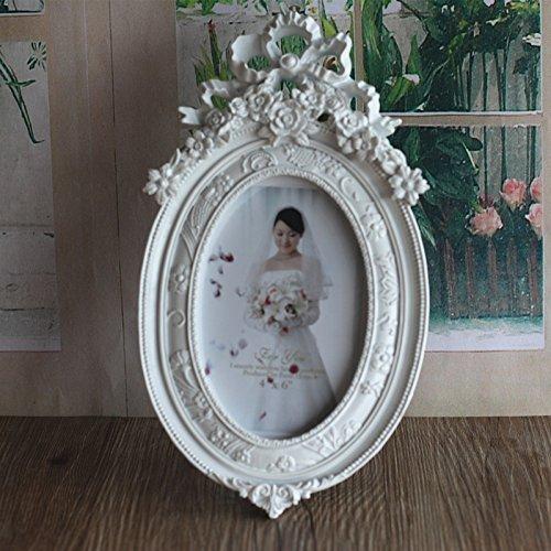 XBR Vestido de novia de estilo europeo, mesa, mesa de boda, regalo boda blanca foto, marco de la...
