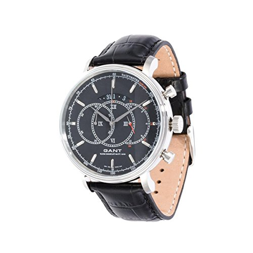 GANT Unisex Analogue Watch with Black Dial Analogue Display - W10891
