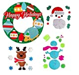 CHRISTMAS CLASSROOM DECORATIONS-3D PAPER WREATH FOR BULLETIN BOARD OR DOOR AND GEL WINDOW CLING BUNDLE-SNOWMAN WITH WINTER SNOW FLAKES, CHRISTMAS TREE best price on Amazon @ Rs. 3639