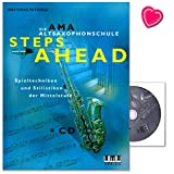 Telecharger Livres Steps Ahead SAXOPHONE ALTO ecole de Matthias Petzold SAXOPHONE Technique Particularites Musique Classique Jazz Materiel pedagogique avec CD et colore Cœur Note Pince (PDF,EPUB,MOBI) gratuits en Francaise