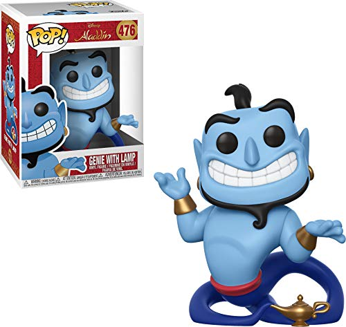 Funko- Pop Vinyl: Disney: Aladdin: Genie with Lamp Idea Regalo, Statue,...