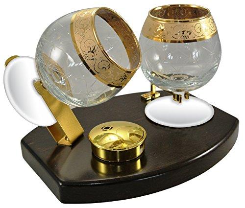 Cowa 600103 - Calienta copas para brandy, cognac y armañac de cristal