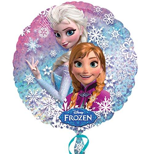 erdbeerloft - Dekoration Frozen Ballon Eiskönigin, Mehrfarbig (Singen Olaf Tanzen Und)