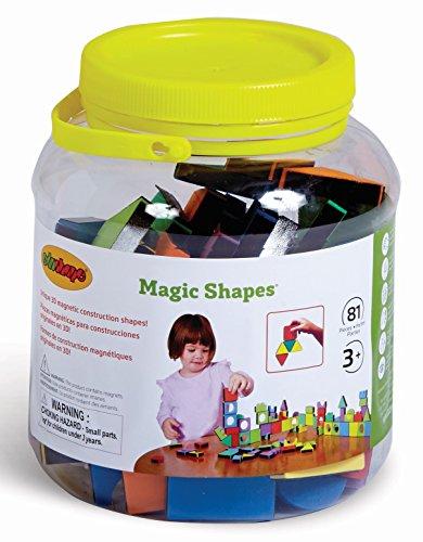 Edushape 977081 MAGIC FORMEN JAR - von 81 SET Jar-form