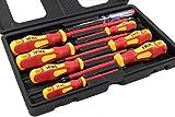 JKR Tools VDE Screwdriver Set 7 pcs plus Voltage Tester