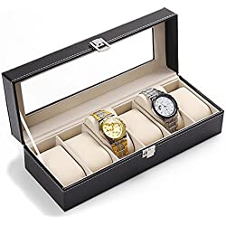 Saflyse 6 Watches Watch Box Watch Case Watch Box Watch Box