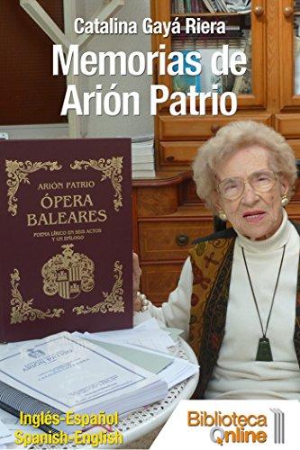 Memorias de Arión Patrio por Catalina Gayá Riera