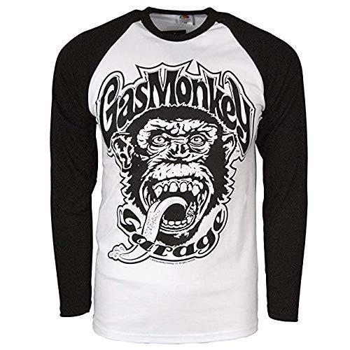 Gas Monkey Garage Blood Sweat & Beers Backdoor T-Shirt (XX-Large)