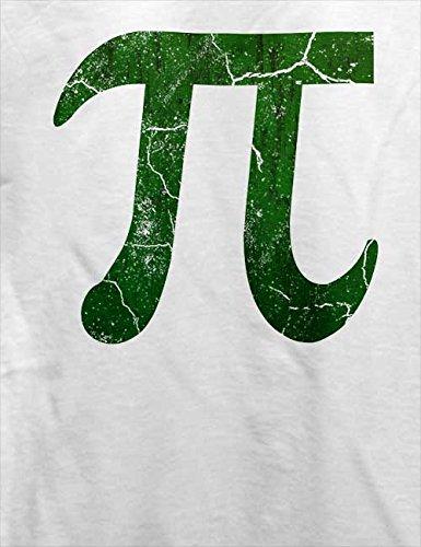 Pi Vintage T-Shirt Weiß