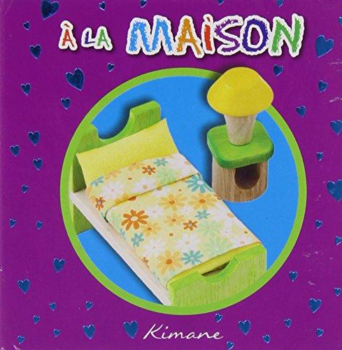 A LA MAISON-MA PREMIERE BIBLIOTHEQUE